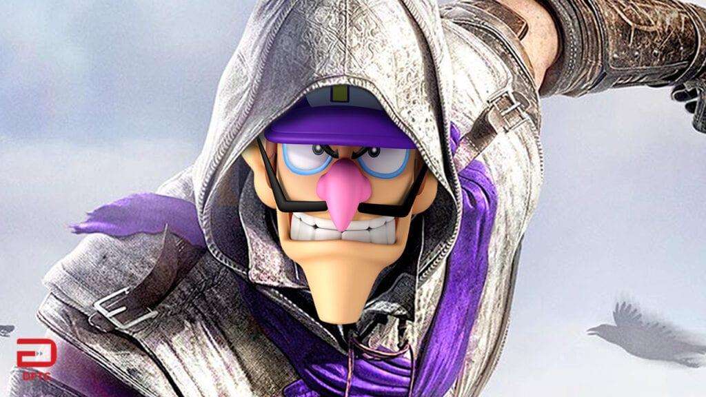 Ubisoft Nintendo Crossovers Waluigi Assassin's Creed