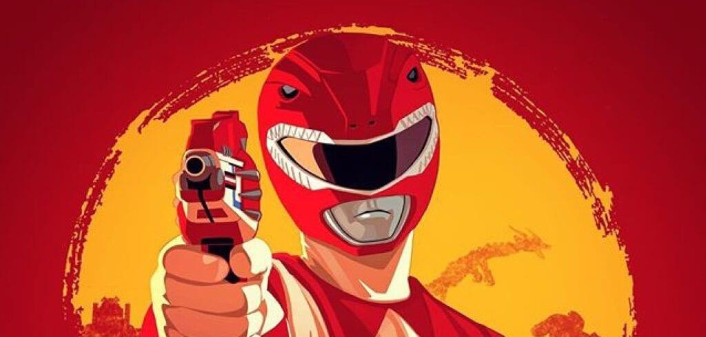 Red Dead Redemption Power Rangers