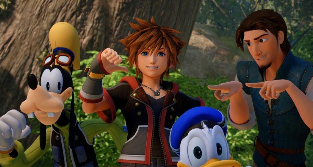 Kingdom Hearts III Goes