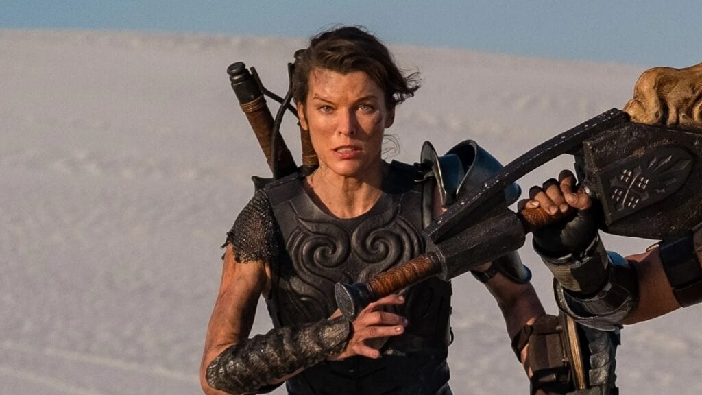 Monster Hunter Movie Reveals First Look At Milla Jovovich And Tony Jaa