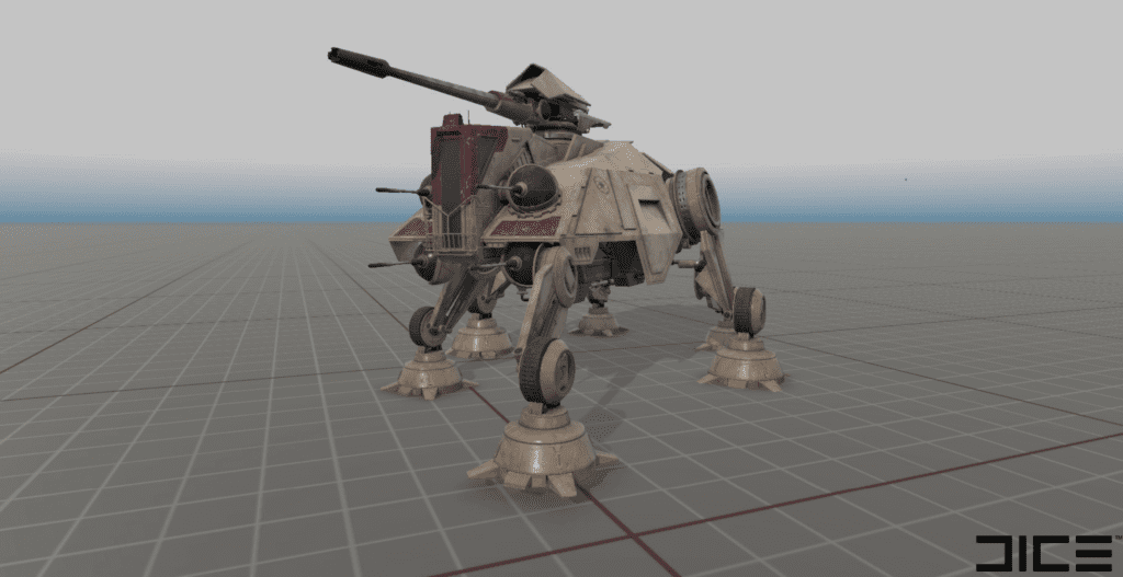 Star Wars Battlefront II AT-TE