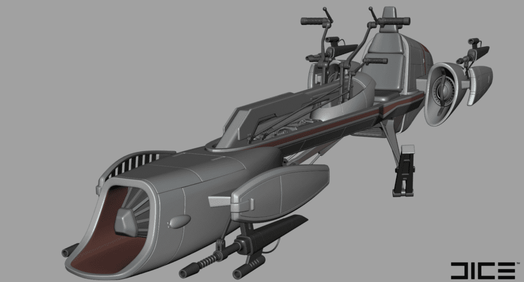 Star Wars Battlefront II BARC Speeder