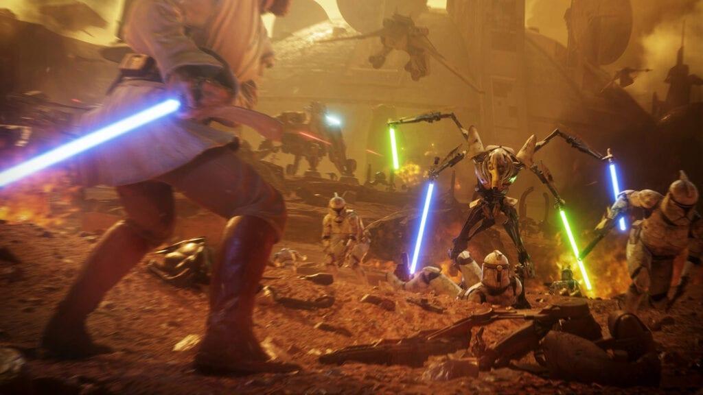 Star Wars Battlefront II Obi Wan Grievous