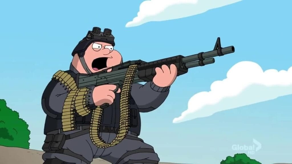 Family Guy GoldenEye
