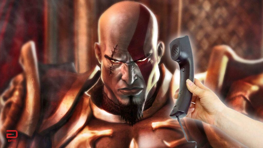 Kratos Has A Secret Phone Number (VIDEO)