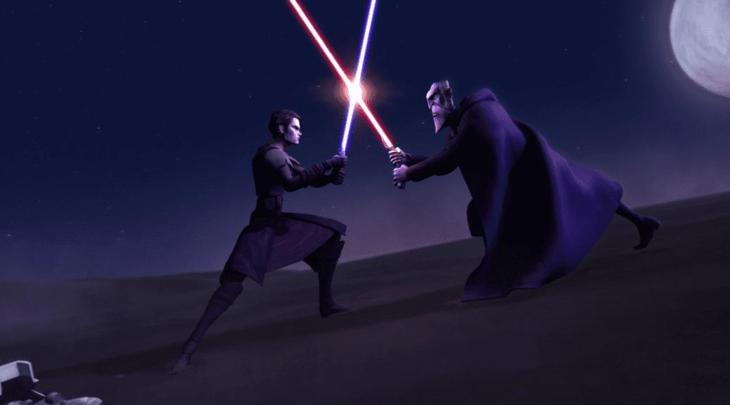 Anakin Dooku Clone Wars