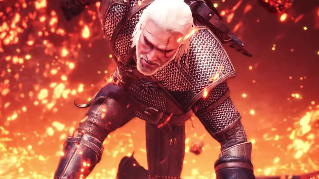 Monster Hunter Geralt