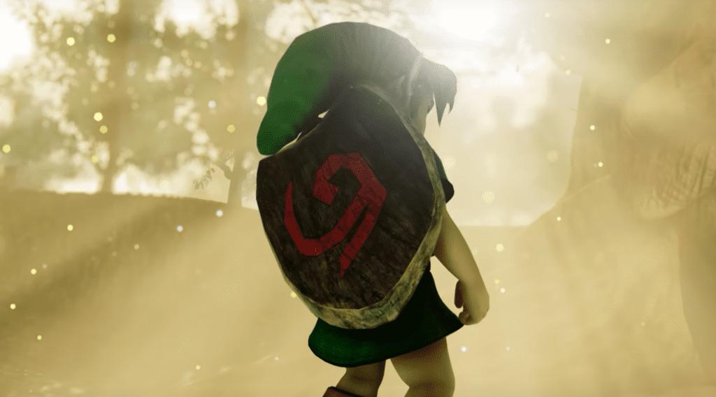 The Legend of Zelda Ocarina Of Time Unreal Engine 4