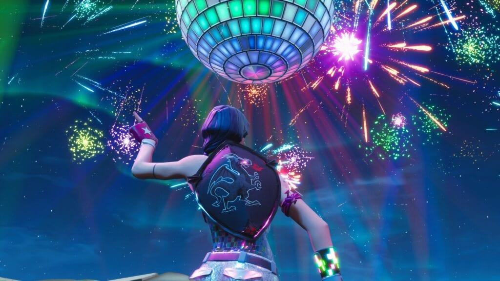 Fortnite Celebrates 2019 With Groovy Disco Fireworks (VIDEO)