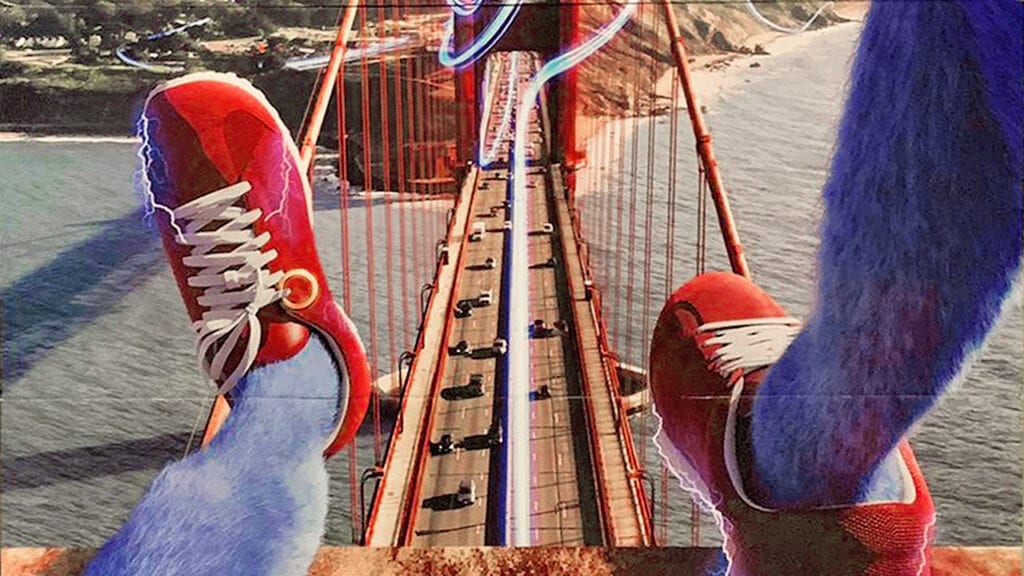 Sonic The Hedgehog's Leggy Movie Poster Turns Out To Be Real