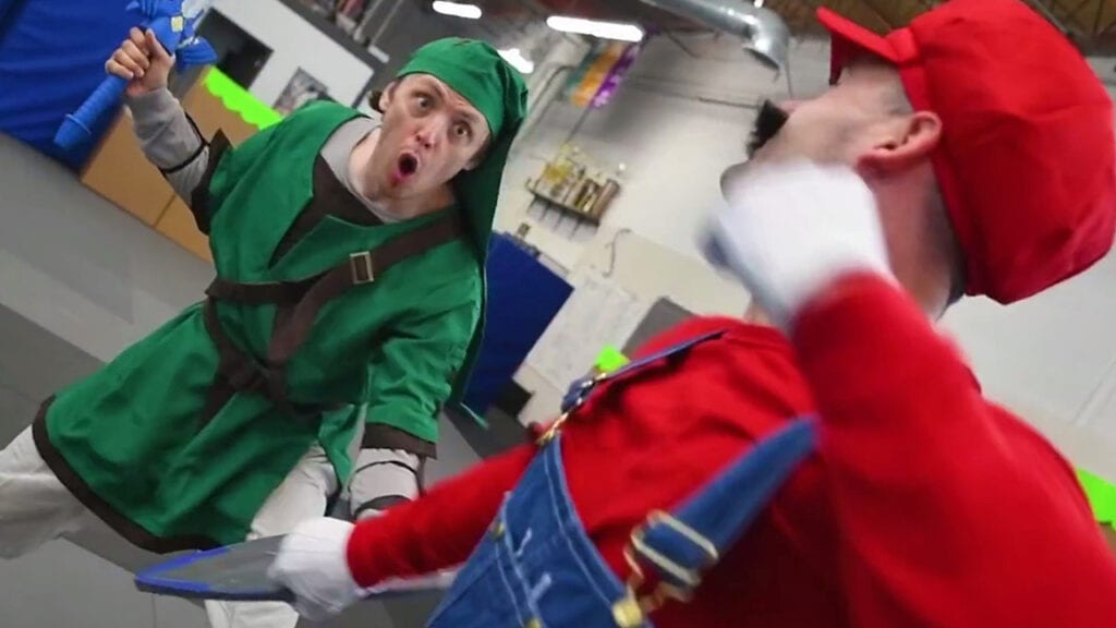 Hilarious 'Super Smash Bros. Ultimate' Live-Action Stunt Video Is The Best Thing Ever (VIDEO)