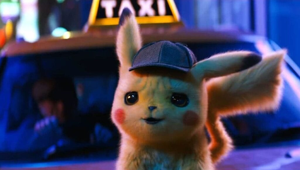 Detective Pikachu Taxi