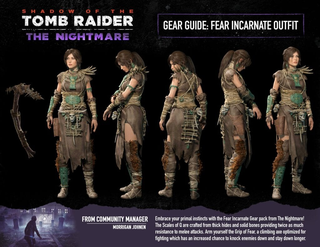 Shadow Of The Tomb Raider's 'The Nightmare' Expansion Revealed