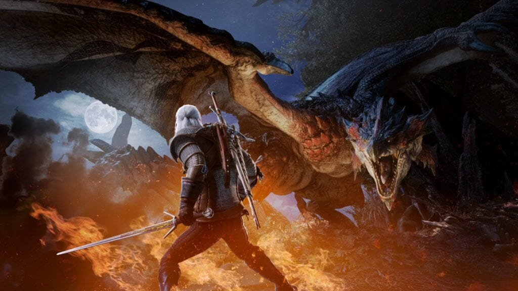 Monster Hunter World's 'The Witcher' Crossover Launches Next Month