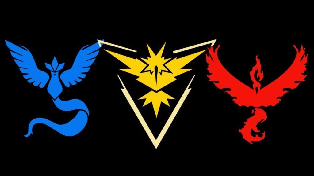 Pokémon Go Team Change