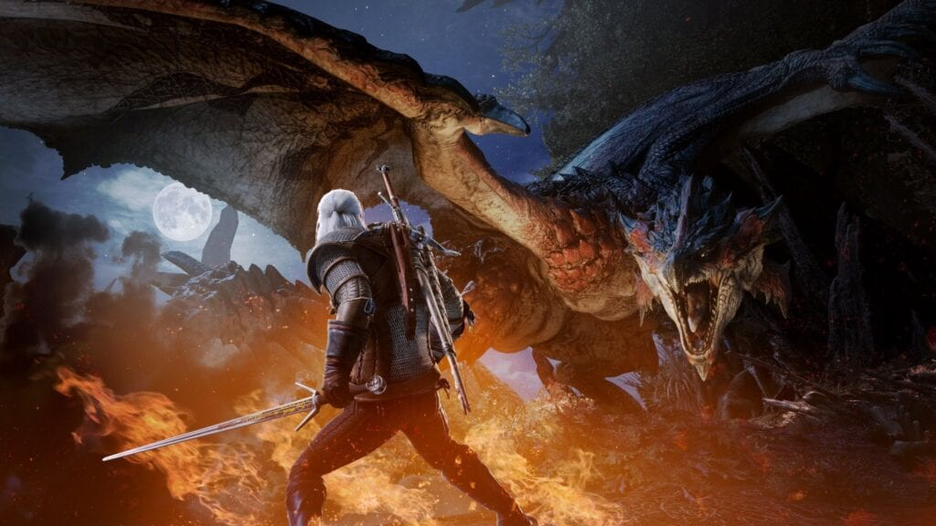 The Witcher's Monster Hunter World Crossover Event Is Now Live, Ciri Included