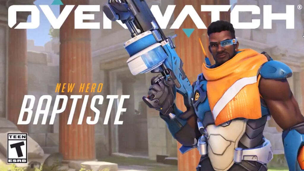 New Overwatch Hero Baptiste is Available Now In PTR (VIDEO)