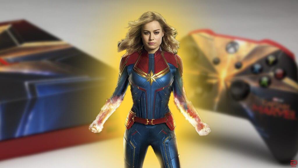 Captain Marvel Xbox One X