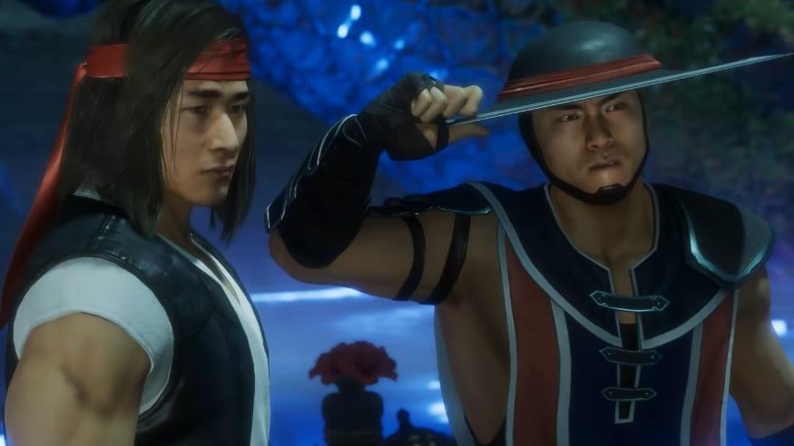 Mortal Kombat 11 Liu Kang Jax Kung Lao