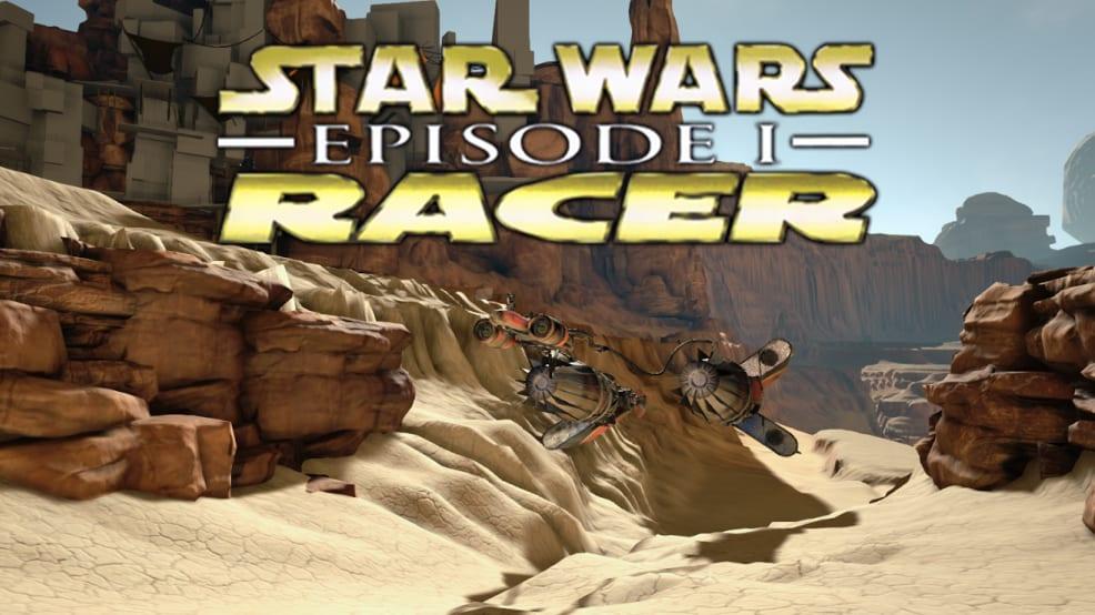 Star Wars Episode 1 Racer Remake