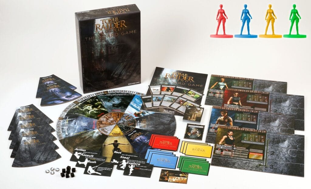 New Tomb Raider Legends: The Board Game Details Revealed