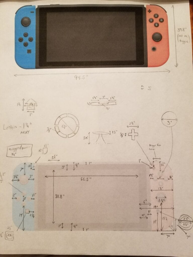 Nintendo Fan Transforms TV Into Giant Nintendo Switch