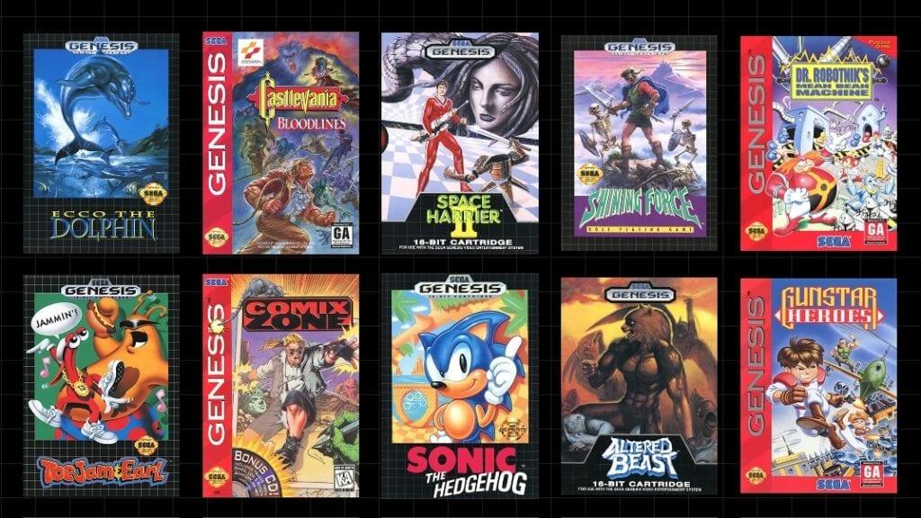 Sega Genesis Mini Reveals First 10 Games, Release Date (VIDEO)