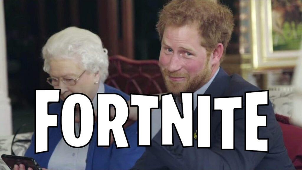 Fortnite Prince Harry