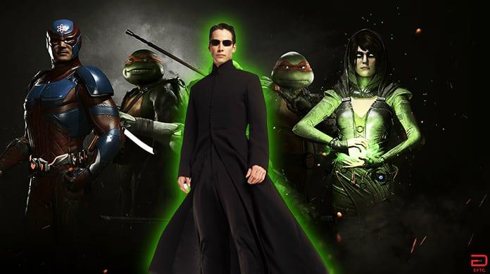 Injustice 2 The Matrix Neo