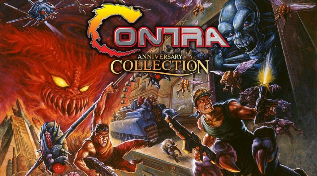 Contra Anniversary Collection Revealed By Konami