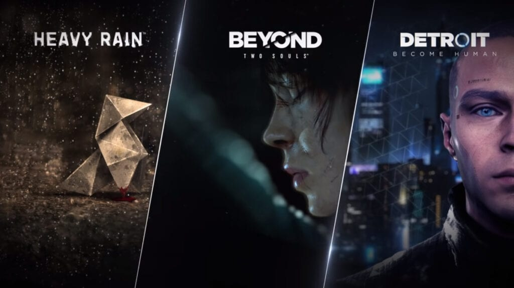 Quantic Dream Heavy Rain Detroit Become Human Beyond Two Souls PC