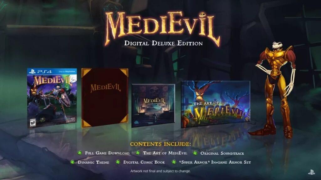 MediEvil Remake's Digital Deluxe Edition, Pre-Order Bonus Revealed