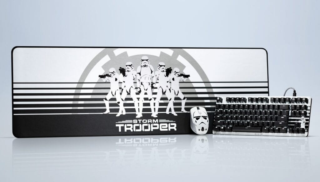 Razer Reveals New Line Of Star Wars Stormtrooper Peripherals