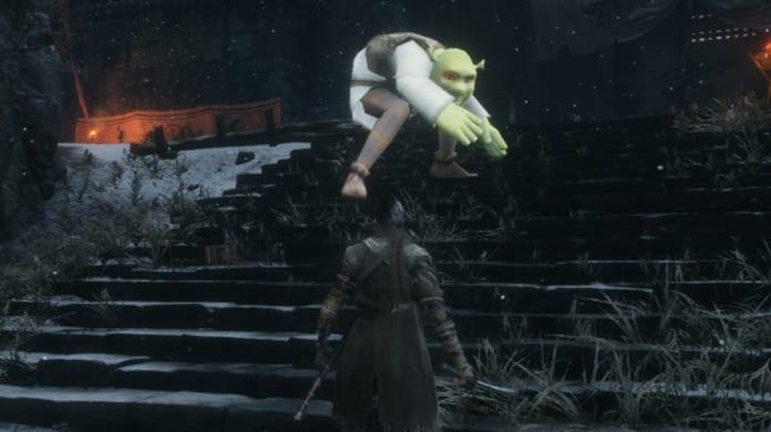 Sekiro Shrek Mod