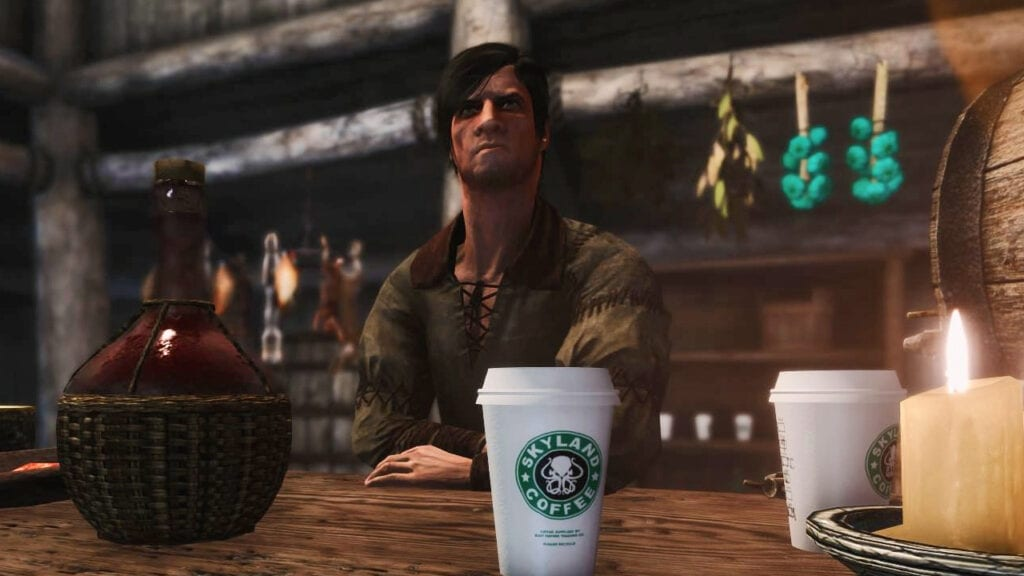 Game Of Thrones Starbucks Blunder Made Into A Skyrim Mod