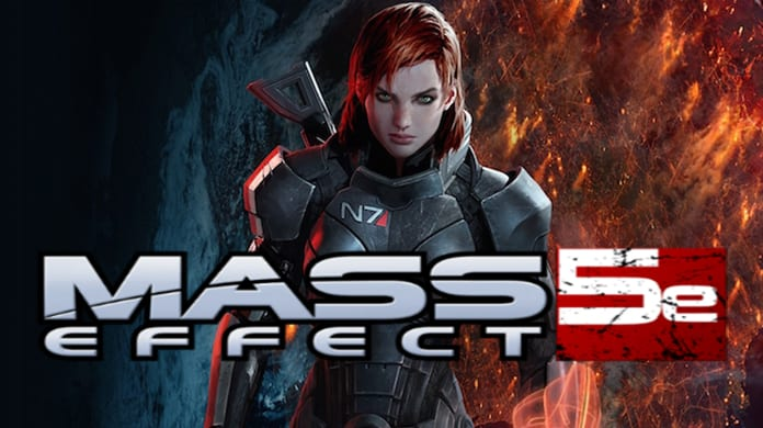 Mass Effect Dungeons and Dragons
