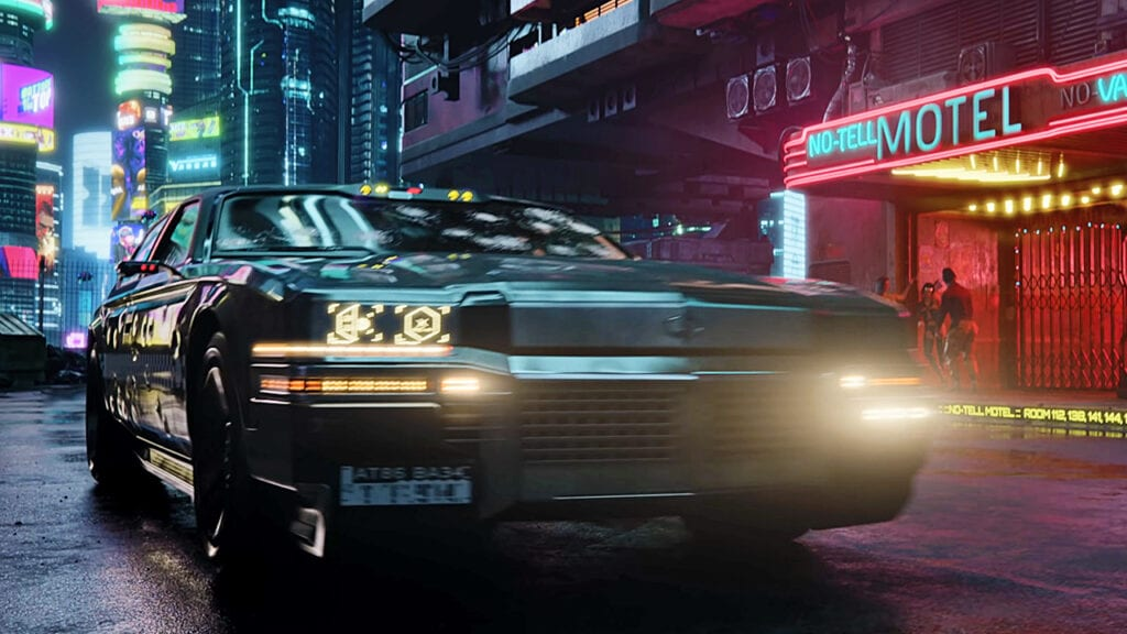 Cyberpunk 2077 Has Robot Ride-Sharing, Self-Driving Cars