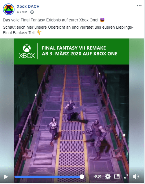 Final Fantasy VII Remake Leak Suggests A Possible Release For Xbox One