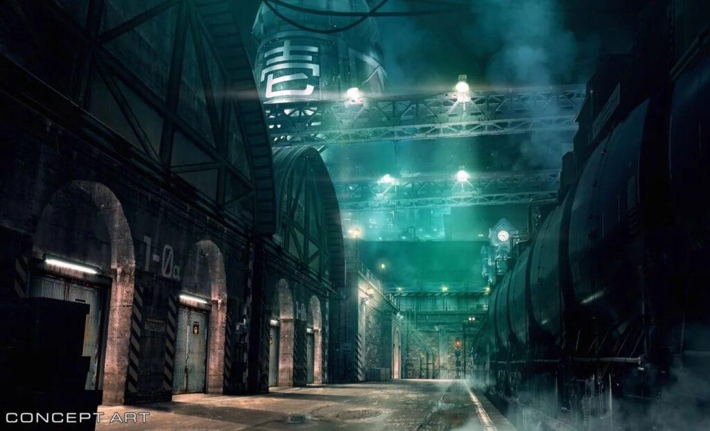 Final Fantasy VII Remake Concept Art Shows Off Midgar's Sector 1