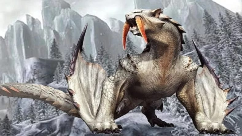 Monster Hunter: World Iceborn Reveals The Iconic Barioth (VIDEO)
