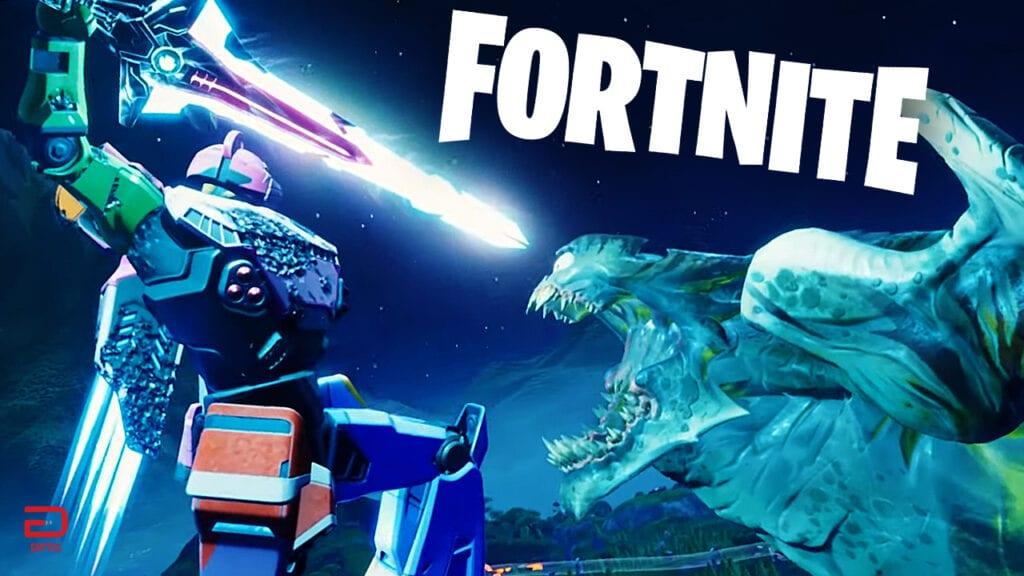 Fortnite Season 9 Culminates In Epic Monster Vs. Mecha Battle (VIDEO)