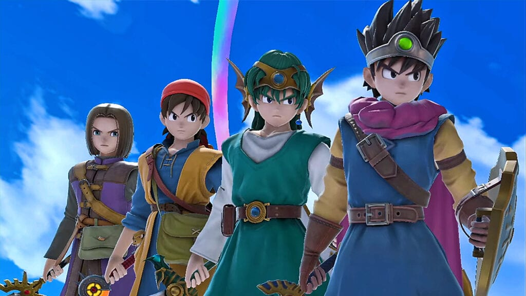 Super Smash Bros Ultimate Adds Dragon Quest Hero To The Roster (VIDEO)