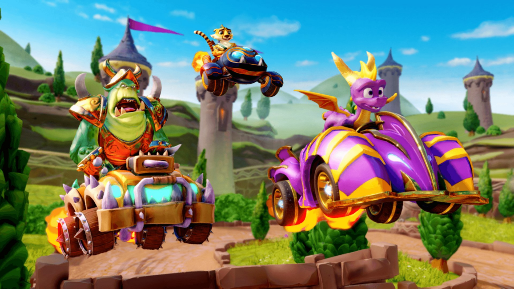 Crash Team Racing Nitro Fueled Adds Spyro To The Roster