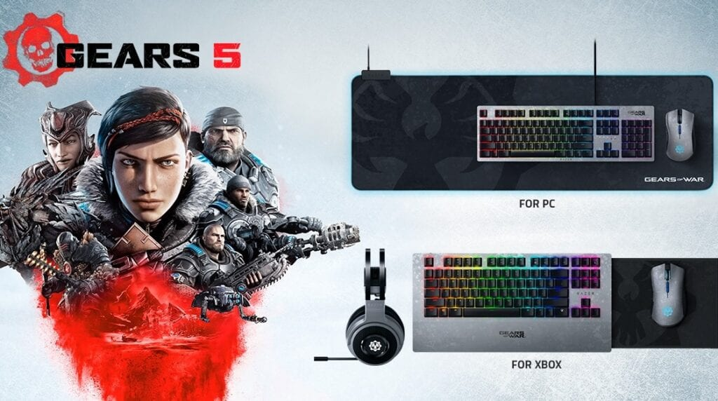 Gears 5 Is Getting Official Razer Gaming Peripherals