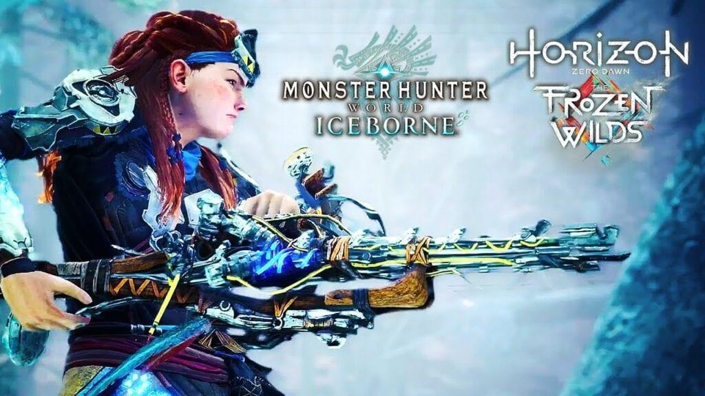 Monster Hunter World: Iceborne Getting Horizon: Zero Dawn Crossover (VIDEO)