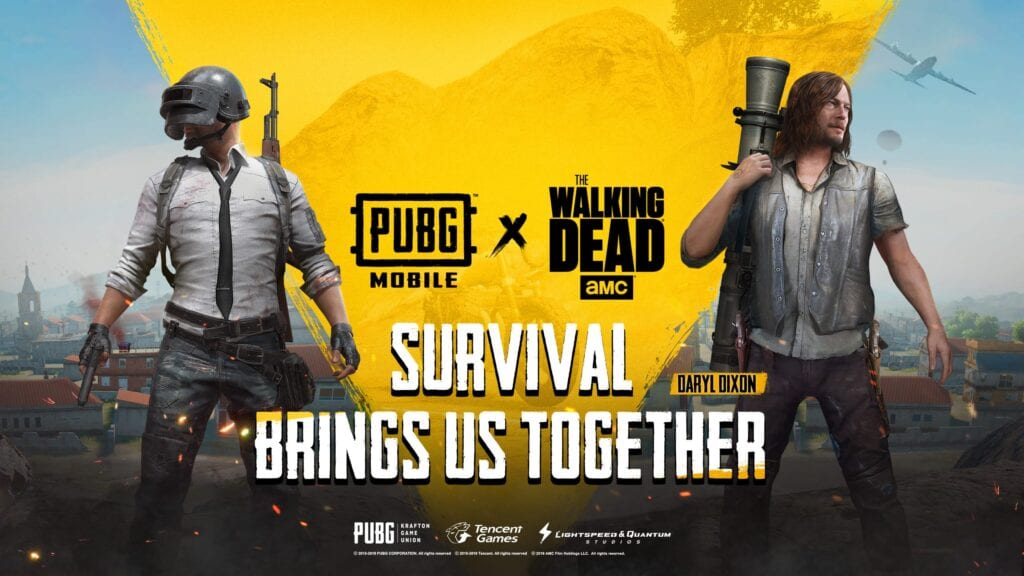 PUBG Mobile Walking Dead