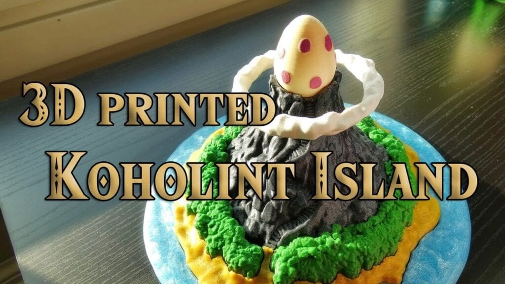 Koholint The Legend of Zelda Fan Recreated Koholint Island With A 3D Printer (VIDEO)