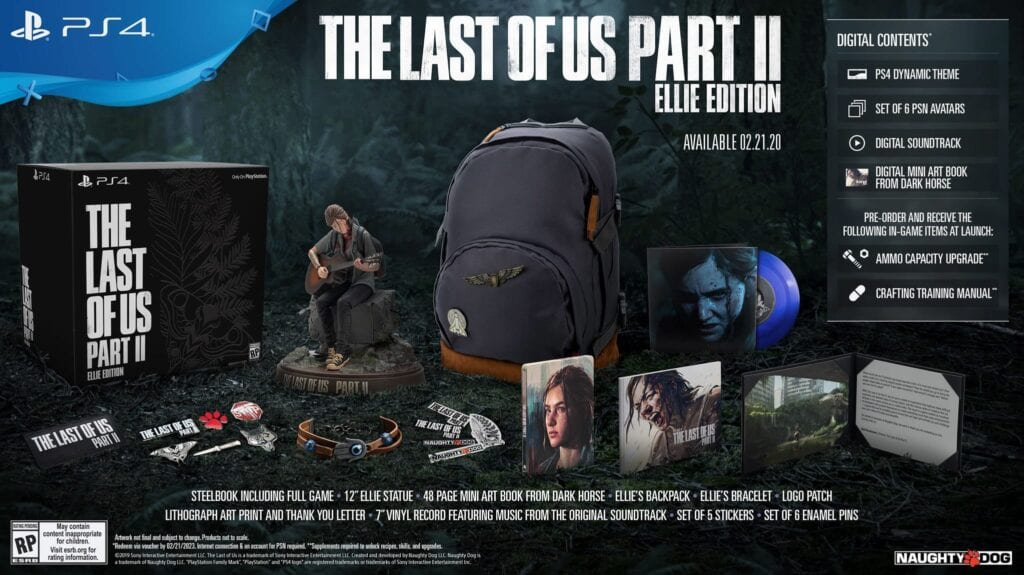 The Last Of Us Part II's Special 'Ellie Edition' Revealed