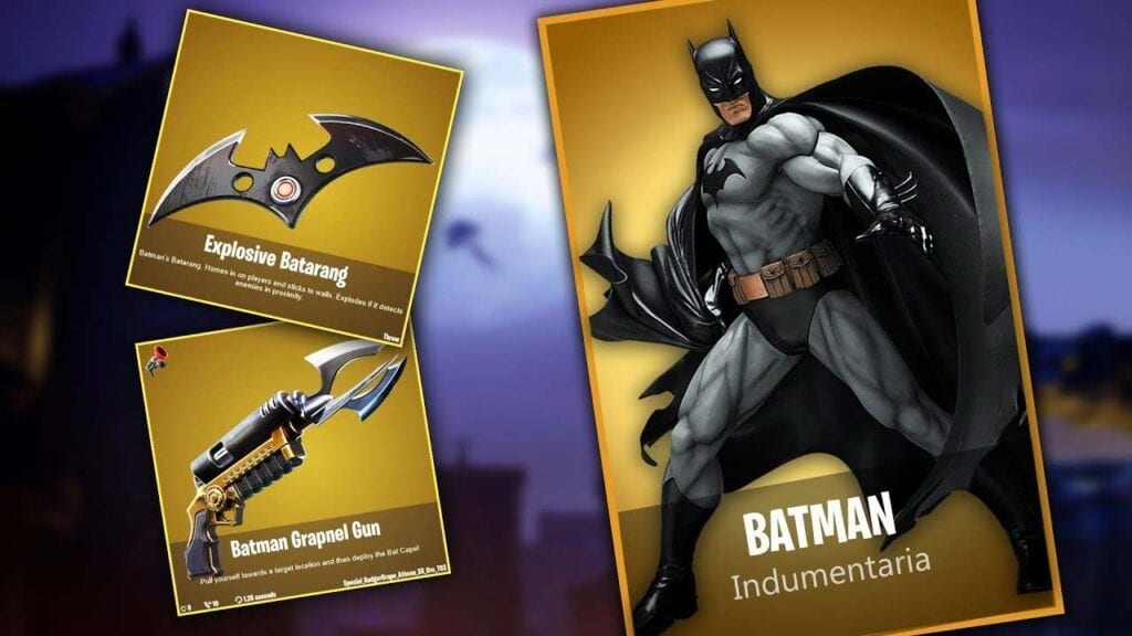 Fortnite Announces Batman Crossover Event Coming Soon