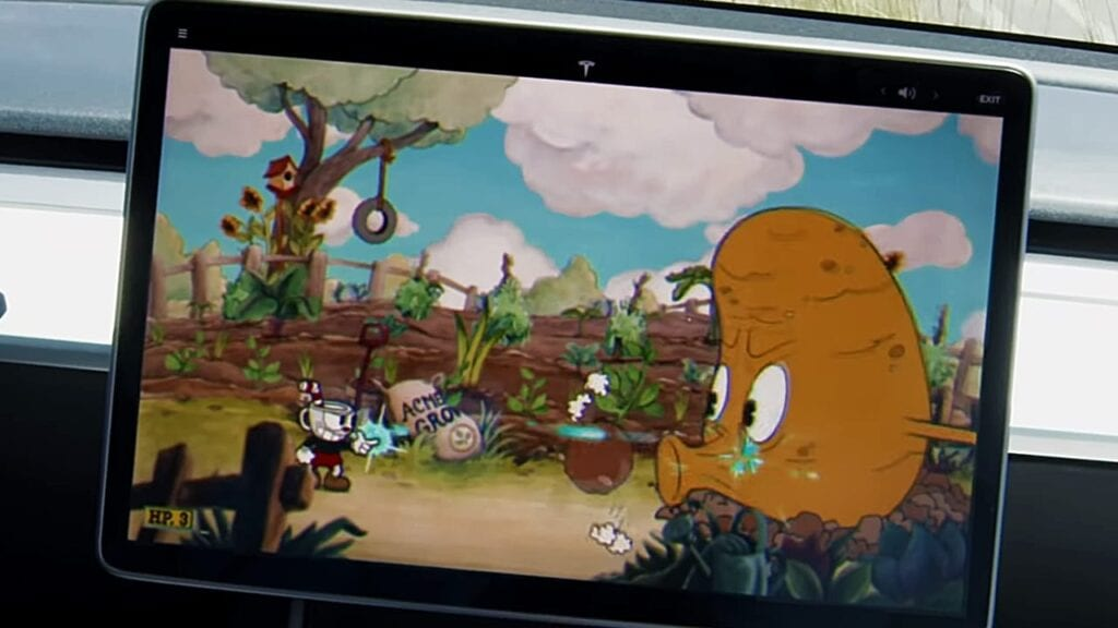 Cuphead Now Available In Tesla Cars, Still No PS4 Version (VIDEO)